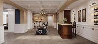 20万以上140平米别墅美式风格健身房设计图