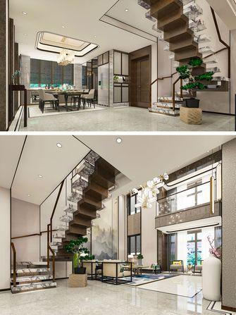 豪华型140平米别墅中式风格楼梯间图片