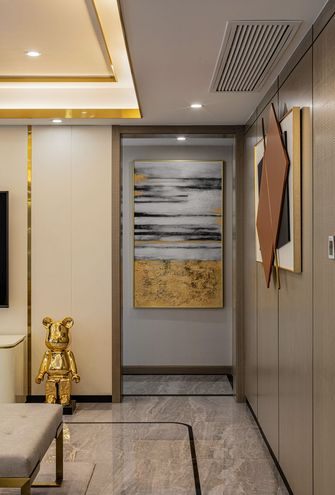 20万以上140平米四室两厅轻奢风格走廊设计图