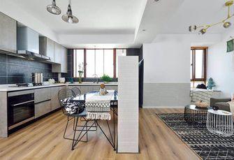 经济型70平米一居室现代简约风格厨房设计图