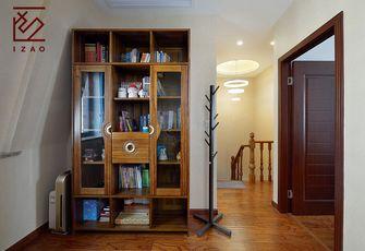 富裕型140平米四室两厅中式风格书房图