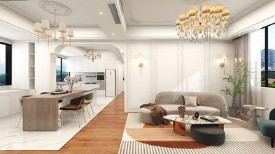 豪华型140平米三室三厅美式风格客厅图片