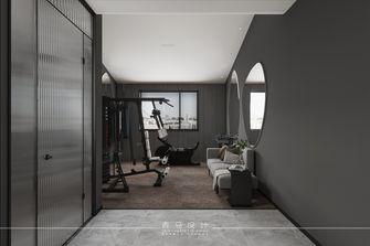 豪华型140平米别墅现代简约风格健身房效果图