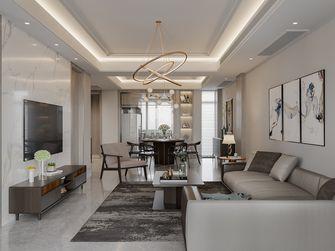 豪华型140平米别墅北欧风格客厅图
