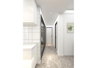 经济型60平米混搭风格走廊装修案例