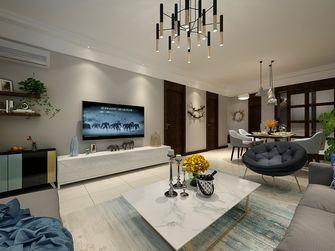 经济型80平米复式现代简约风格客厅效果图