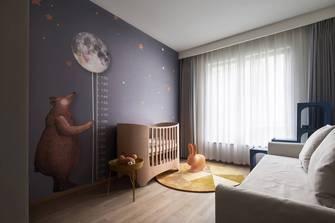 130平米北欧风格卧室装修效果图