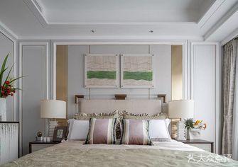 20万以上110平米三法式风格卧室设计图