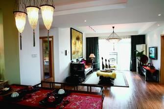 140平米四东南亚风格客厅图片