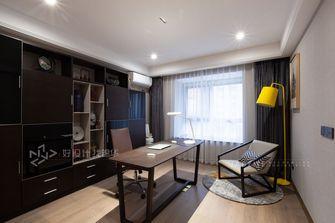 140平米四室三厅现代简约风格书房装修案例