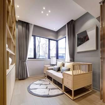 富裕型100平米中式风格卧室欣赏图