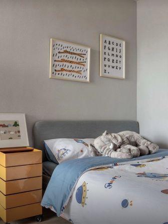 120平米三室两厅现代简约风格青少年房装修图片大全