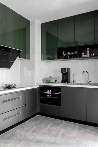140平米四室两厅轻奢风格厨房图