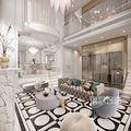 140平米别墅法式风格客厅欣赏图