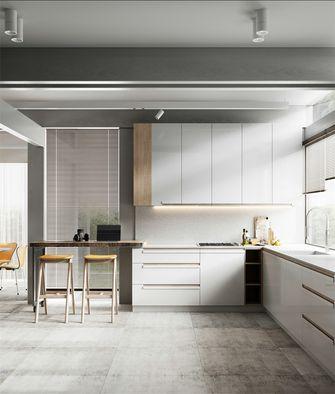 富裕型140平米四室一厅现代简约风格厨房装修效果图