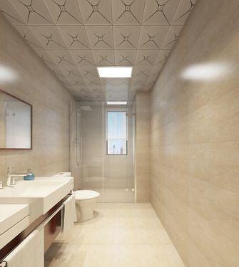 140平米三室一厅美式风格卫生间图