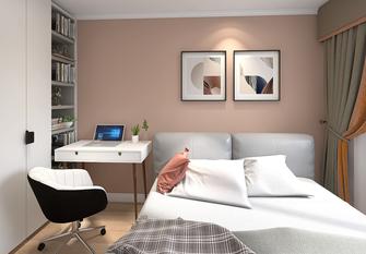 20万以上70平米公寓现代简约风格卧室欣赏图