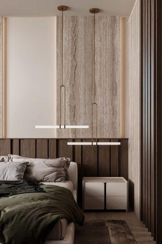 富裕型110平米三室一厅现代简约风格卧室装修案例
