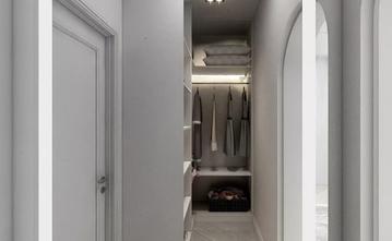 110平米三室两厅欧式风格衣帽间图
