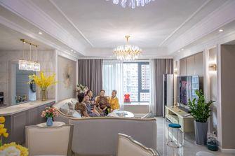 豪华型110平米四室一厅美式风格客厅装修图片大全