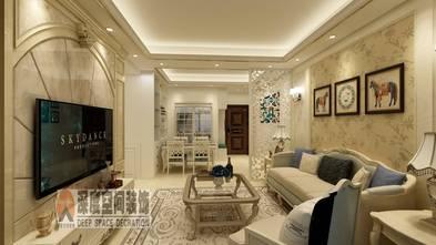经济型80平米三室两厅欧式风格客厅图片