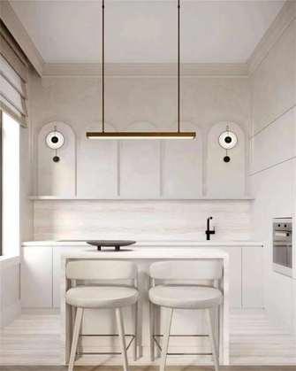 经济型90平米公寓法式风格厨房装修案例