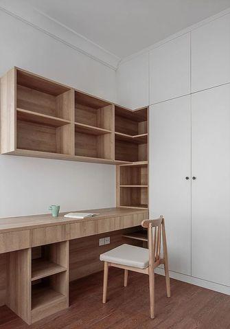 120平米三室一厅北欧风格书房设计图