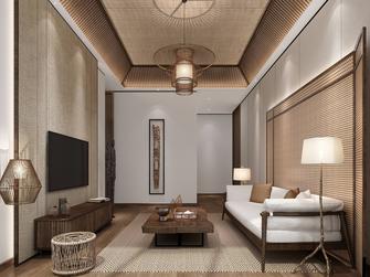 富裕型120平米三东南亚风格客厅装修图片大全