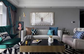 富裕型130平米四室两厅美式风格客厅设计图