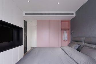 豪华型80平米公寓现代简约风格卧室图片大全