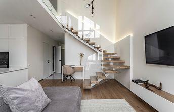 60平米一居室日式风格楼梯间欣赏图