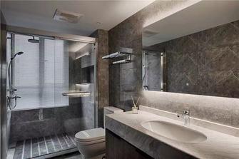 130平米三室三厅现代简约风格卫生间图片