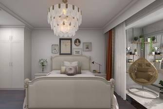 富裕型140平米别墅美式风格卧室装修案例