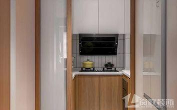 富裕型60平米日式风格厨房图片