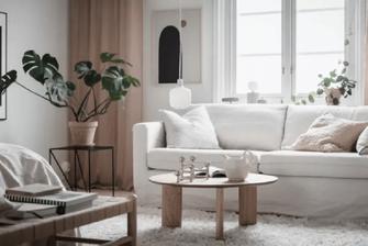 10-15万40平米小户型北欧风格客厅设计图