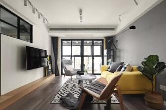 90平米三室两厅工业风风格客厅装修图片大全