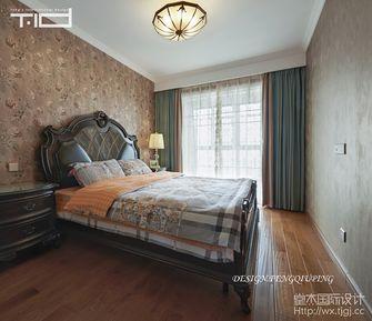 140平米三美式风格卧室装修案例