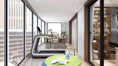 140平米四室一厅中式风格阳台图片