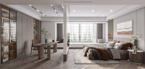 140平米别墅轻奢风格卧室图