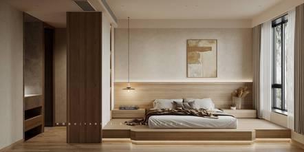 豪华型140平米复式日式风格卧室装修案例
