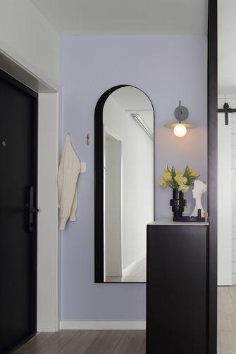 富裕型70平米一室一厅北欧风格玄关图片大全