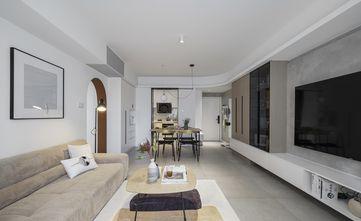 富裕型70平米北欧风格客厅装修图片大全