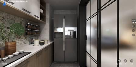 140平米三室两厅日式风格厨房图片