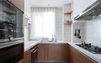 5-10万90平米三室一厅日式风格厨房装修图片大全