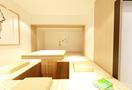 经济型40平米小户型日式风格卧室图