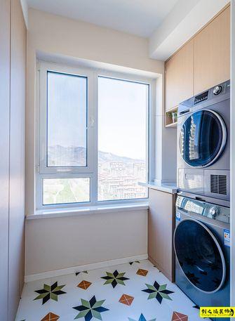 5-10万100平米三室两厅日式风格阳台装修图片大全