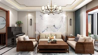 豪华型140平米三室两厅中式风格客厅装修效果图