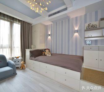 15-20万90平米三室两厅北欧风格青少年房设计图