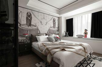 富裕型110平米三室两厅混搭风格卧室装修案例
