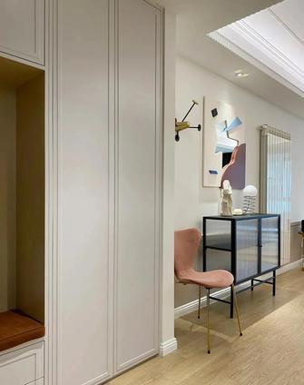 富裕型90平米三室一厅混搭风格玄关图片